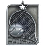 Centurion Star Series Tennis Medal Silver 53x40mm