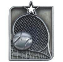 Centurion Star Series Tennis Medal Silver 53x40mm
