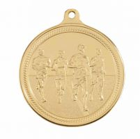 Endurance Running Gold Medal 50mm