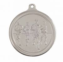 Endurance Running Silver Medal 50mm
