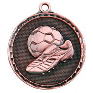 Power Boot Medal Antique Bronze 50mm