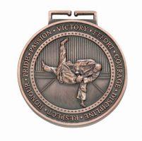 Olympia Judo Medal Antique Bronze 70mm
