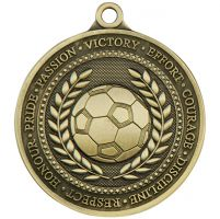 Olympia Football Medal Antique Gold 60mm