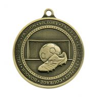 Olympia Football Trophy Award Medal Antique Gold 70mm