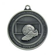 Olympia Football Trophy Award Medal Antique Silver 70mm