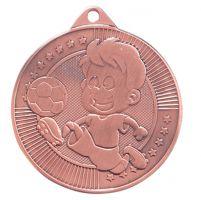 Little Champion Football Trophy Award Medal Bronze 45mm