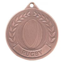 Discovery Rugby Medal Bronze 50mm