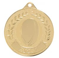 Discovery Rugby Medal Gold 50mm