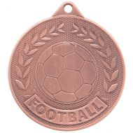 Discovery Football Trophy Award Medal Bronze 50mm