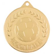 Discovery Football Trophy Award Medal Gold 50mm