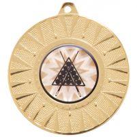 Warrior Medal Gold 50mm