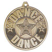 Cascade Dance Iron Medal Antique Gold 50mm : New 2019