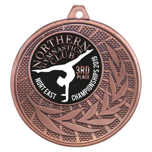 Augustus Iron Medal Bronze 50mm : New 2019