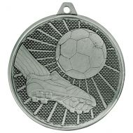 Formation Football Iron Medal Antique Silver 50mm : New 2019