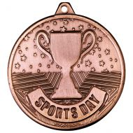 Cascade Sports Day Iron Medal Antique Bronze 50mm : New 2020
