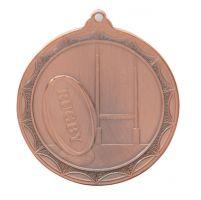Cascade Rugby Medal Bronze 50mm