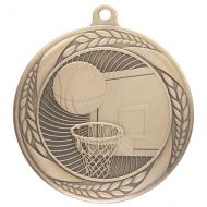 Typhoon Basketball Medal Gold 55mm : New 2020