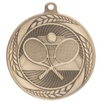 Typhoon Tennis Medal Gold 55mm : New 2020