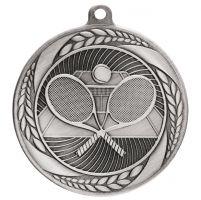 Typhoon Tennis Medal Silver 55mm : New 2020