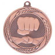 Typhoon Martial Arts Medal Bronze 55mm : New 2020