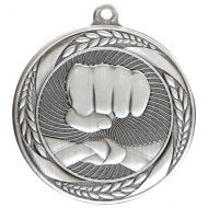Typhoon Martial Arts Medal Silver 55mm : New 2020