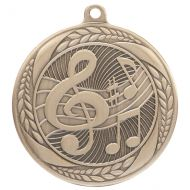 Typhoon Music Medal Gold 55mm : New 2020