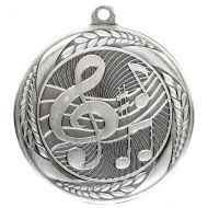 Typhoon Music Medal Silver 55mm : New 2020