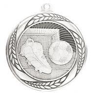 Typhoon Football Medal Silver 55mm : New 2020