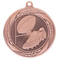 Typhoon Rugby Medal Bronze 55mm : New 2020