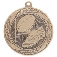 Typhoon Rugby Medal Gold 55mm : New 2020