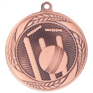 Typhoon Cricket Medal Bronze 55mm : New 2020