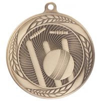 Typhoon Cricket Medal Gold 55mm : New 2020