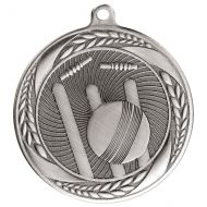 Typhoon Cricket Medal Silver 55mm : New 2020