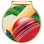 Vision Cricket Medal 60mm : New 2020