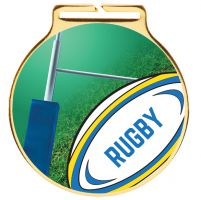 Vision Rugby Medal 60mm : New 2020