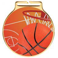 Vision Basketball Medal 60mm : New 2020