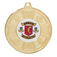 Balmoral Medal Series Gold 50mm