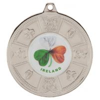 Eire Medal Series Silver 50mm