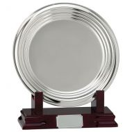 Inverurie Nickel Plated Salver Series 205mm