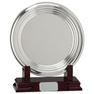 Inverurie Nickel Plated Salver Series 250mm