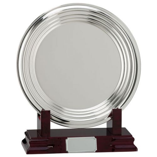 Inverurie Nickel Plated Salver Series 250mm