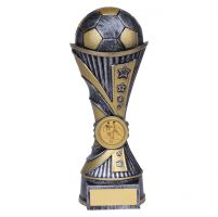 All Stars Football Heavyweight Trophy Award Antique Silver and Gold 200mm : New 2019