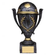 Emperor Football Heavyweight Trophy Award Antique Silver and Gold 205mm : New 2019