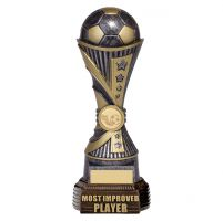 All Stars Football Most Improved Player Antique Silver and Gold 260mm : New 2019