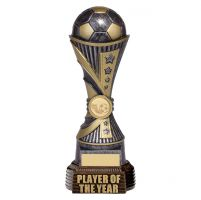 All Stars Football Player Of The Year Antique Silver and Gold 260mm : New 2019