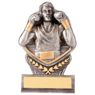 Falcon Boxing Trophy Award 105mm : New 2020