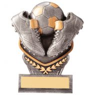 Falcon Football Boot and Ball Trophy Award 105mm : New 2020