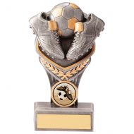 Falcon Football Boot and Ball Trophy Award 150mm : New 2020