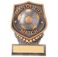 Falcon Man of the Match Football Trophy Award 105mm : New 2020