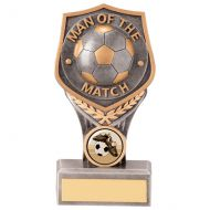 Falcon Football Man of the Match Trophy Award 150mm : New 2020